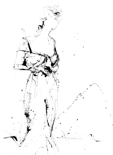 Abstract Sketch of a Lady I