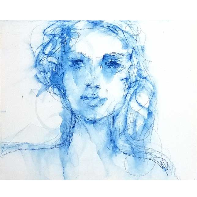 Blue Stabilo Sketch Experiment