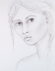 FemalePortraitSketchVI